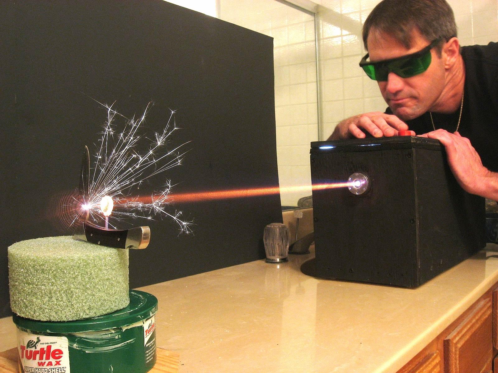 Как сделать мощный лазер своими руками - Vsedelkin 99